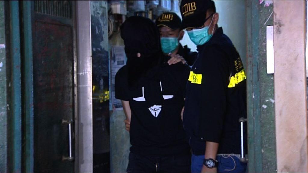 兩名男子涉嫌販毒被海關拘捕