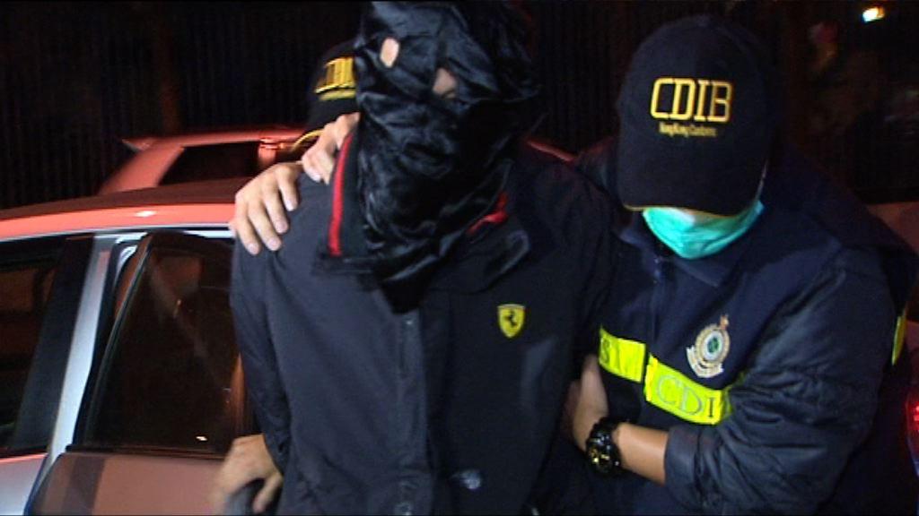 海關羅湖拘一漢檢1.5公斤毒品