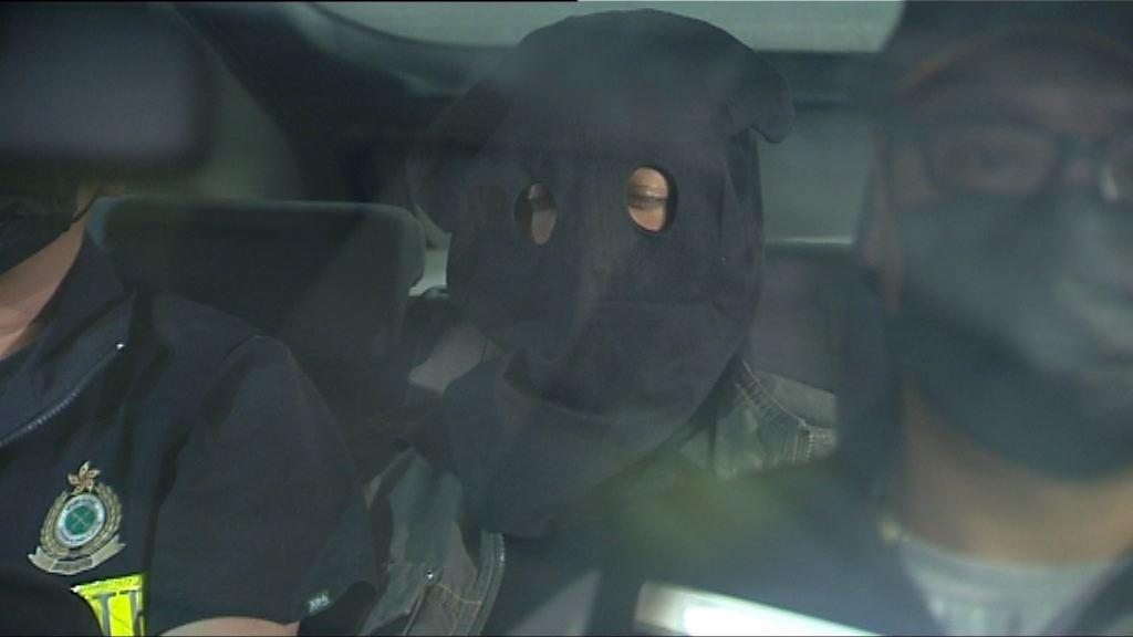 海關拘三男子檢二百萬元毒品