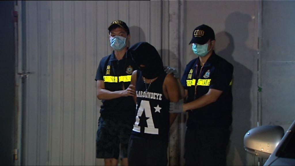 海關上水搗破毒品工場拘兩男子