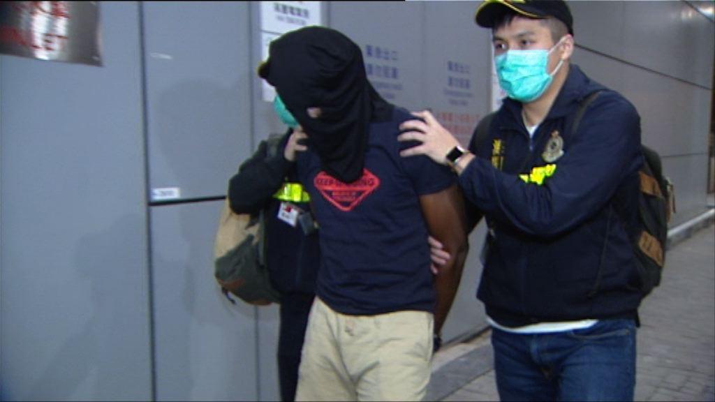 海關機場檢二百萬元大麻拘一人