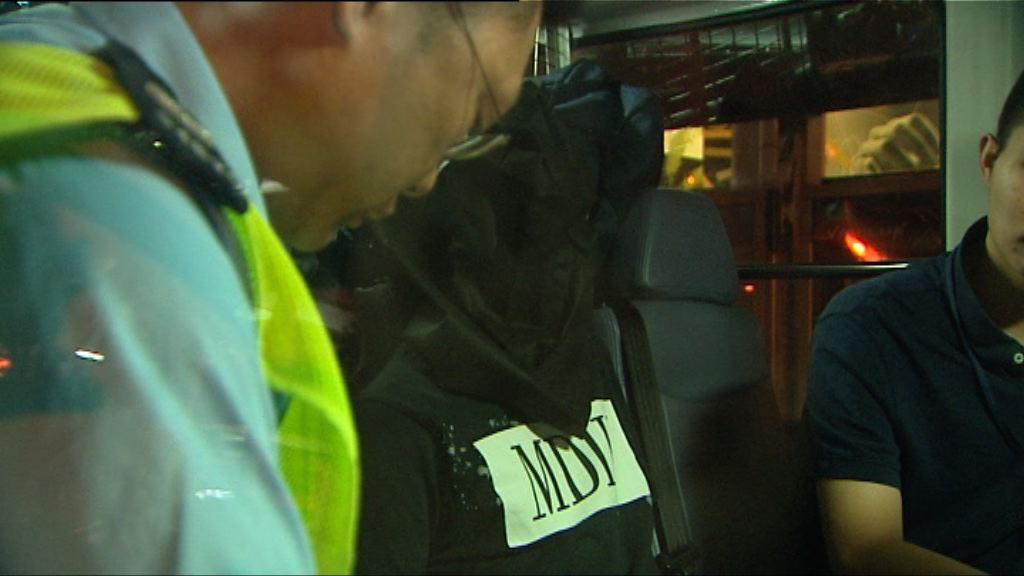 警方觀塘拘捕一對男女檢毒品