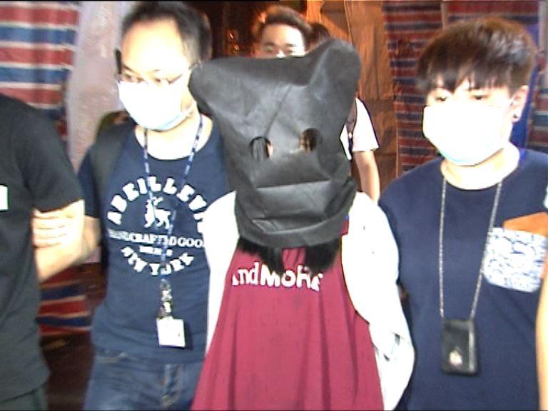 警方黃大仙拘兩漢檢13萬冰毒