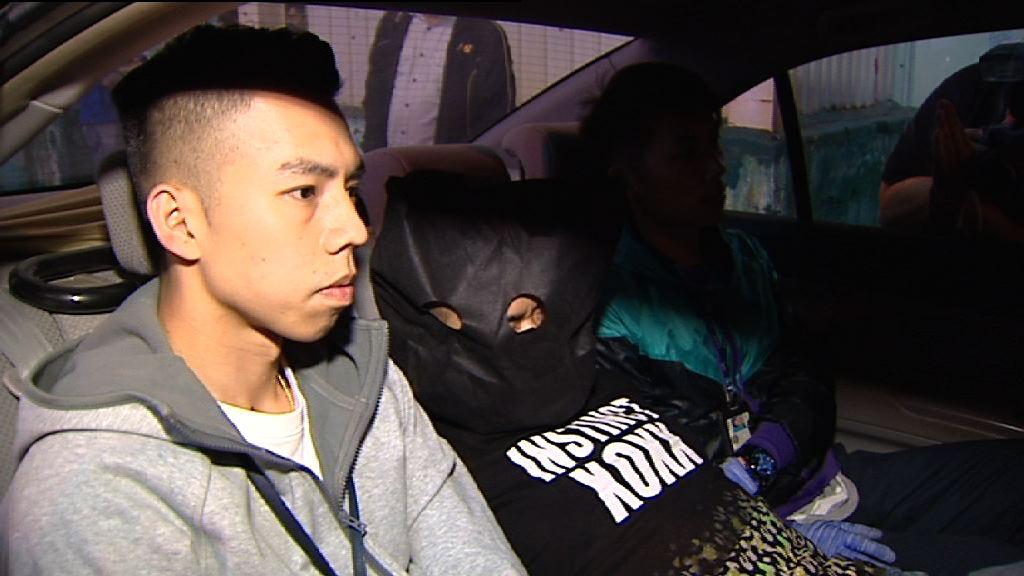警方旺角截車拘一漢檢毒品