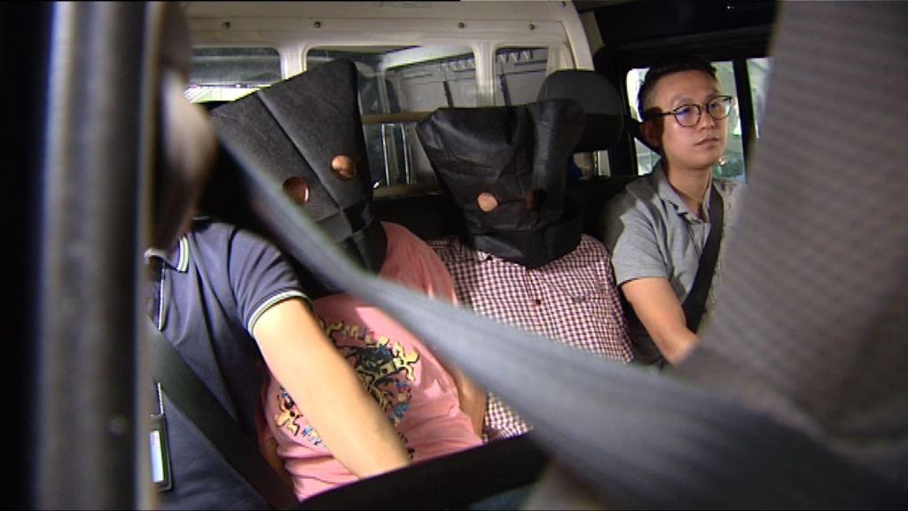 三漢涉交易逾二千萬元毒品被捕