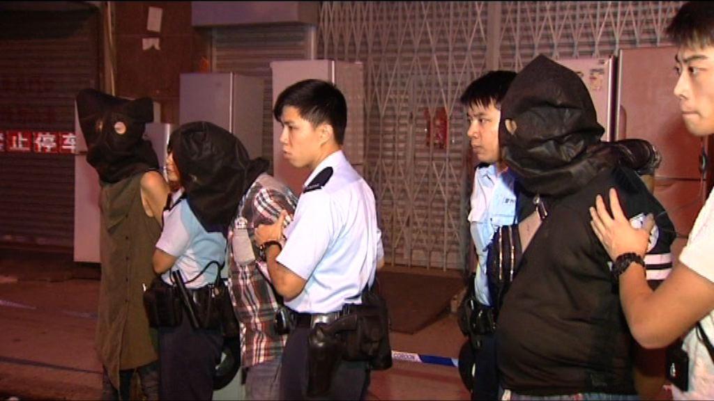 警深水埗截可疑車拘3人檢冰毒