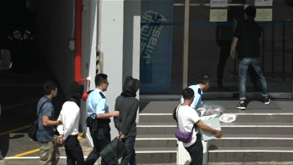 兩人涉尖東酒店製毒及傷人被捕