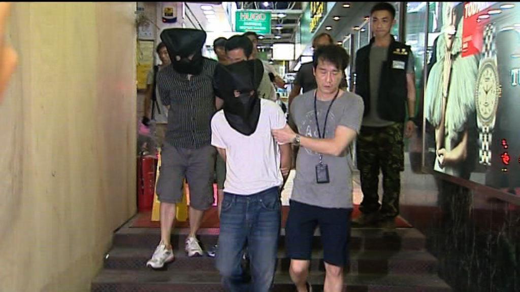 警方尖沙咀破毒品分銷中心拘兩人