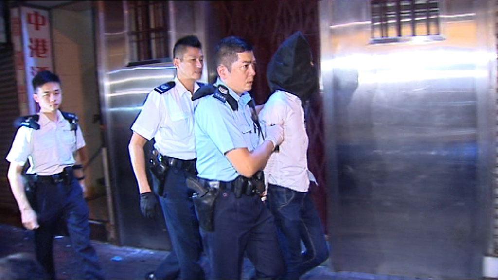 警油麻地搜賓館檢毒品拘一漢