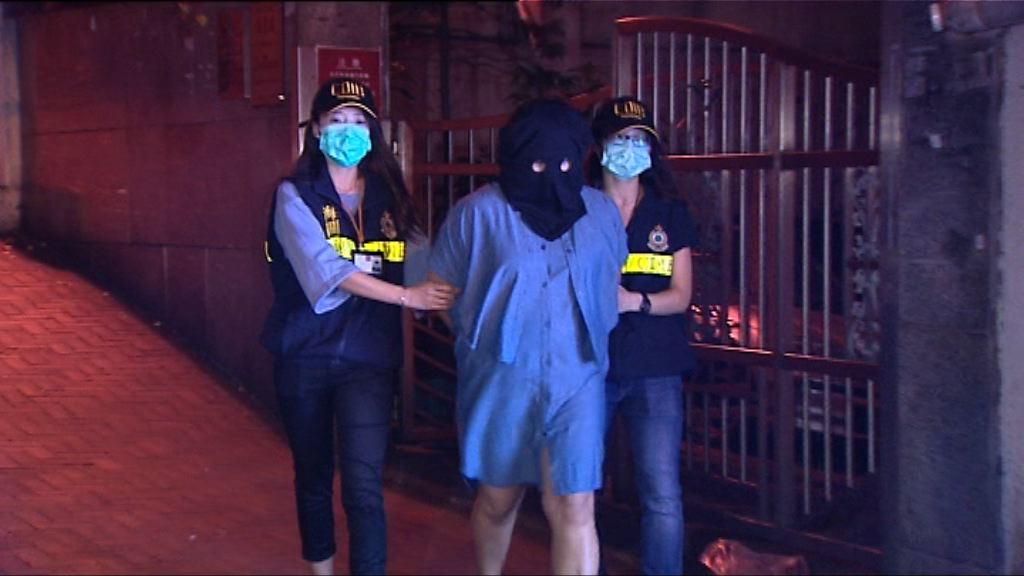 海關拘捕兩名外籍女子涉販毒
