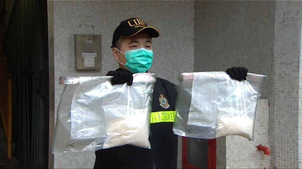 一女子涉運一公斤冰毒入境被捕