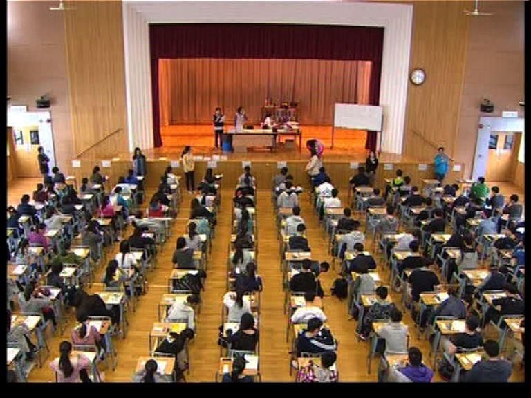 文憑試開考 約7.4萬名考生應考