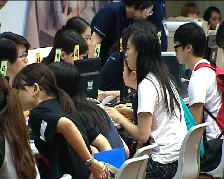 大批考生報讀職訓局課程