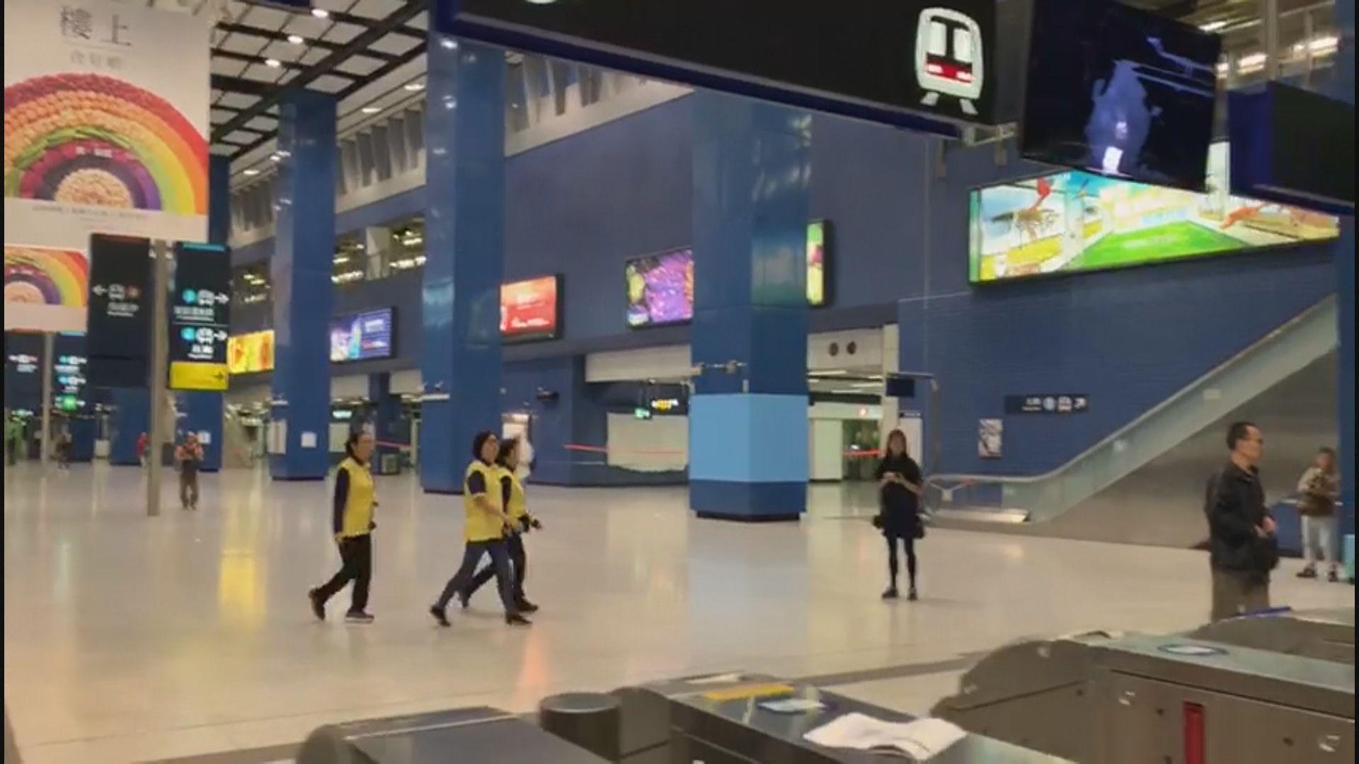 東鐵綫全綫暫停服務
