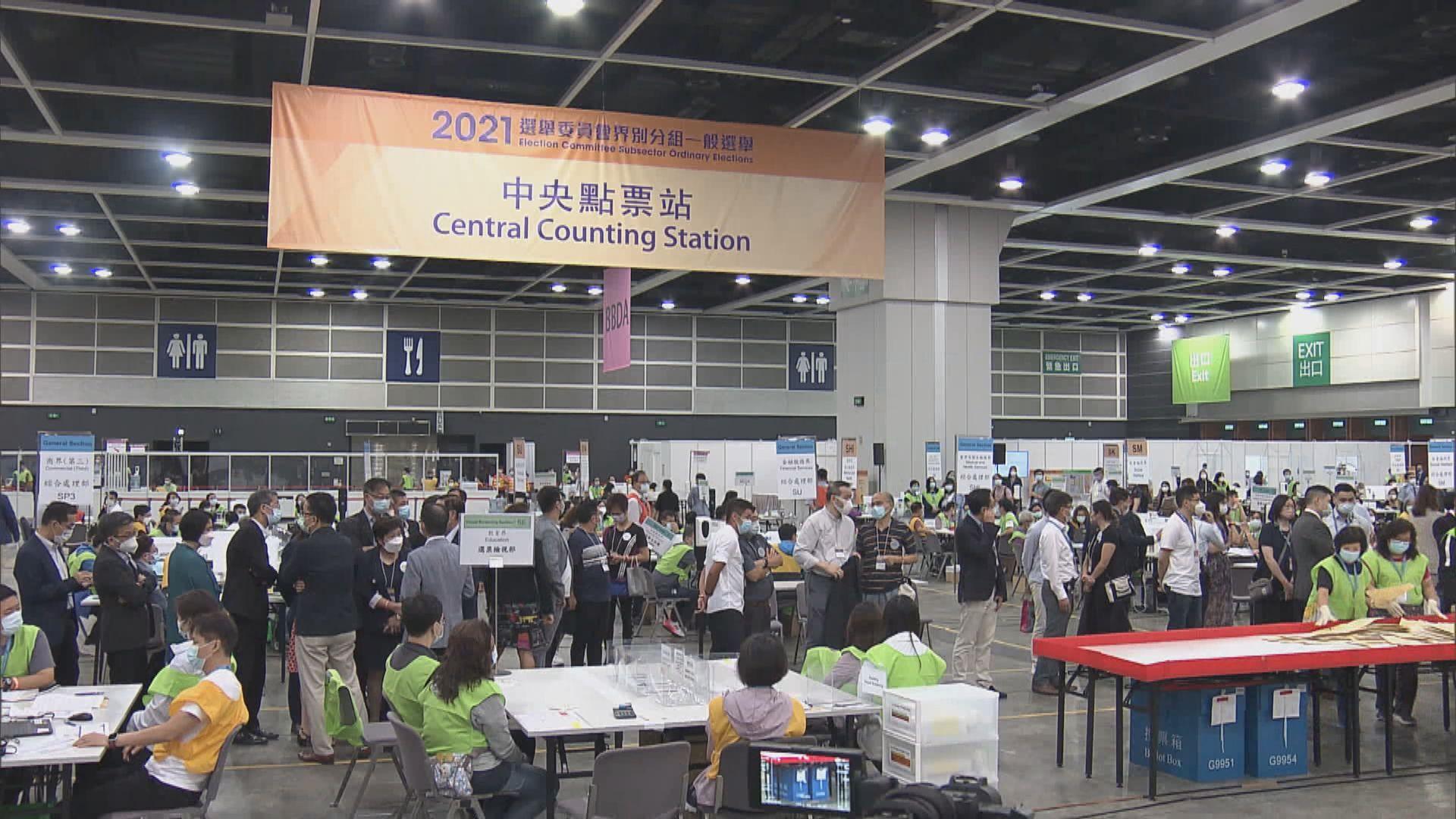 【選委會選舉】13個界別分組結果出爐 點票花逾13小時