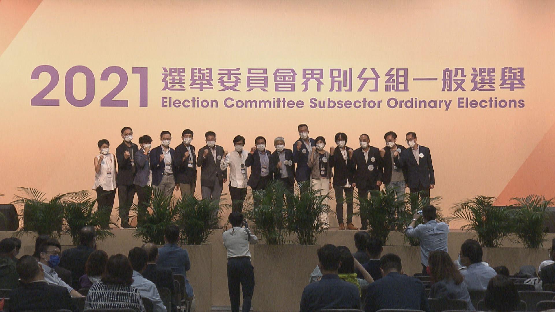 【選委會選舉】建測規園界 何鉅業名單全取15席