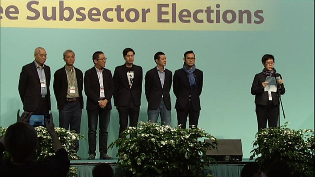選委會選舉 李家誠呂志和等當選