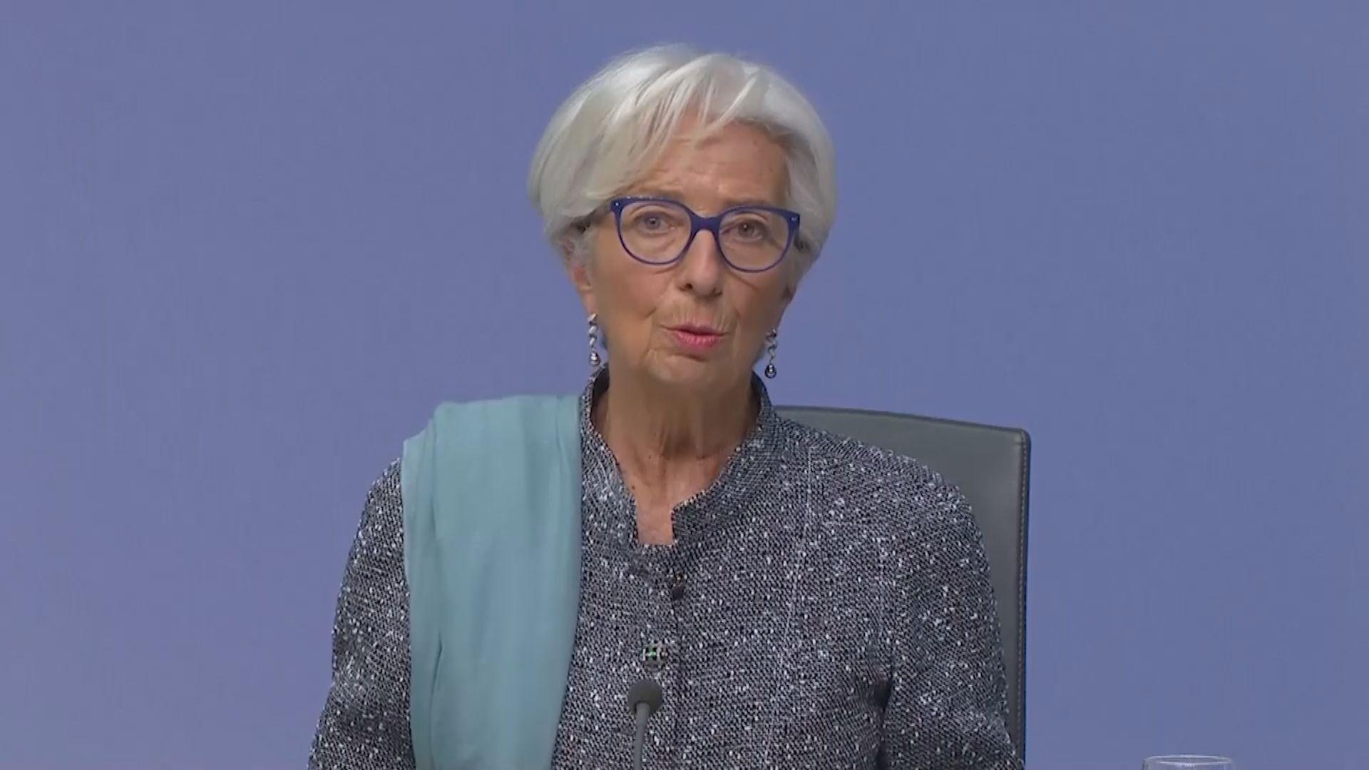 拉加德:歐洲疫情再度加重對經濟復甦構成風險