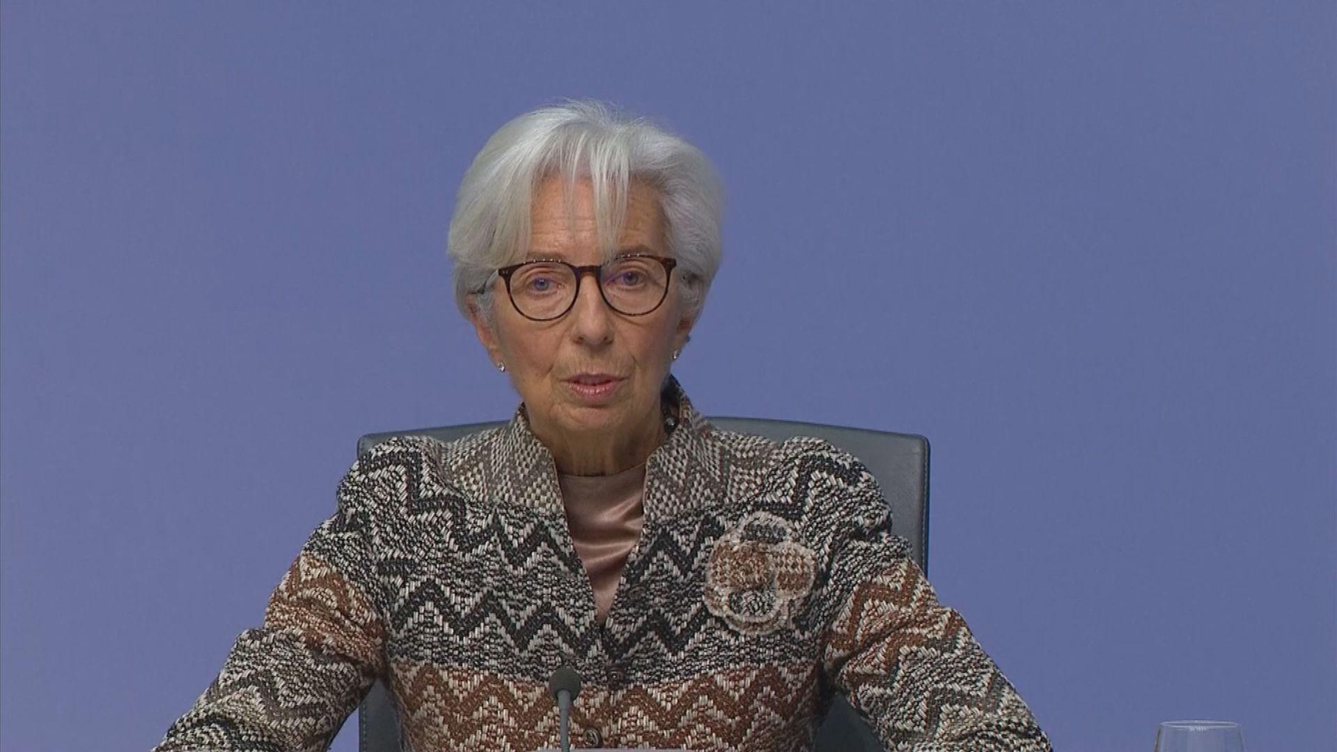 歐洲央行維持利率不變 加碼買債5000億歐元