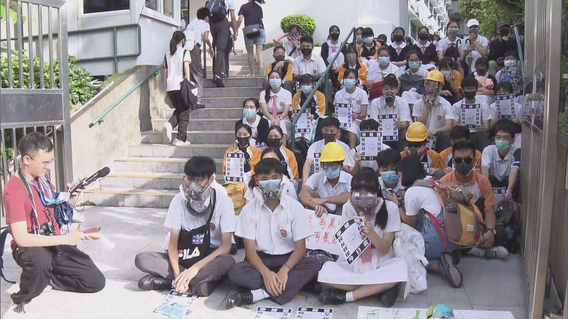 楊潤雄:若學生屢勸不改在學校表達政治 應按懲處機制處理