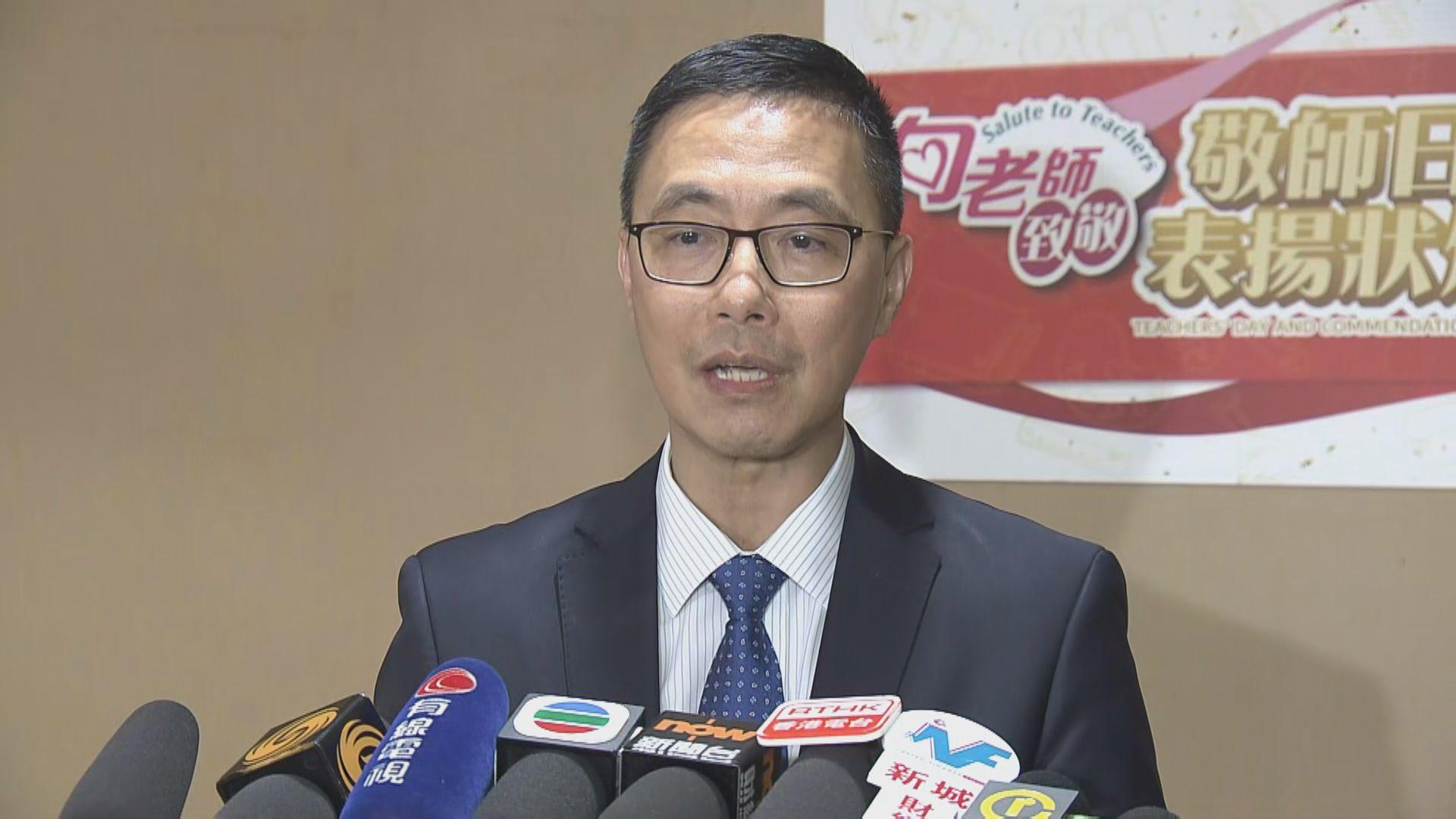 楊潤雄:學生參與任何活動要考慮安全