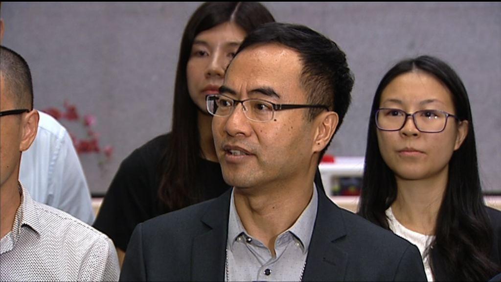 教協向楊潤雄表達施政報告意見