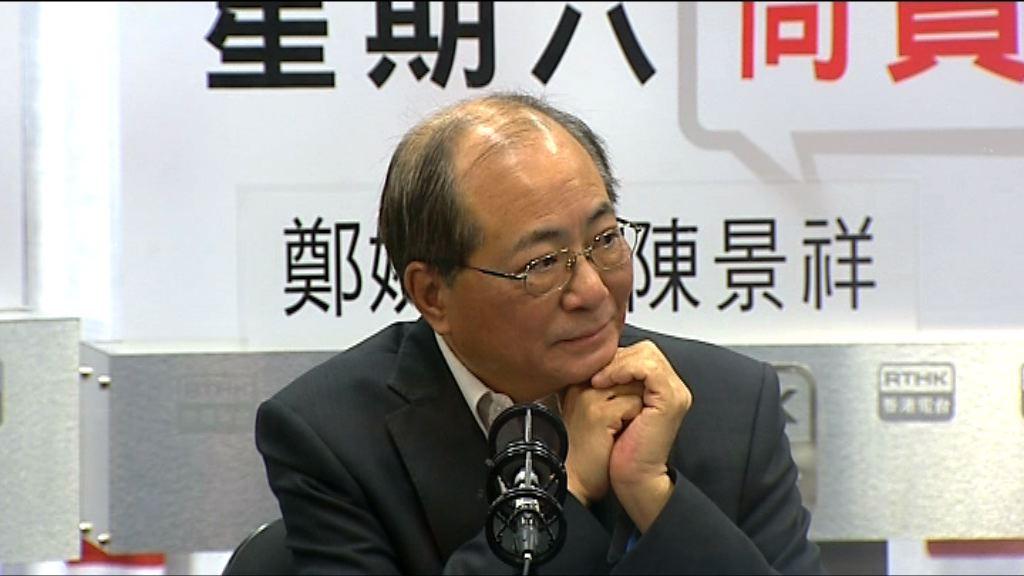 吳克儉:倡罷教屬政治多於專業