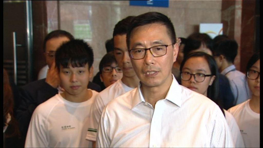 楊潤雄重申會小心考慮副局長人選