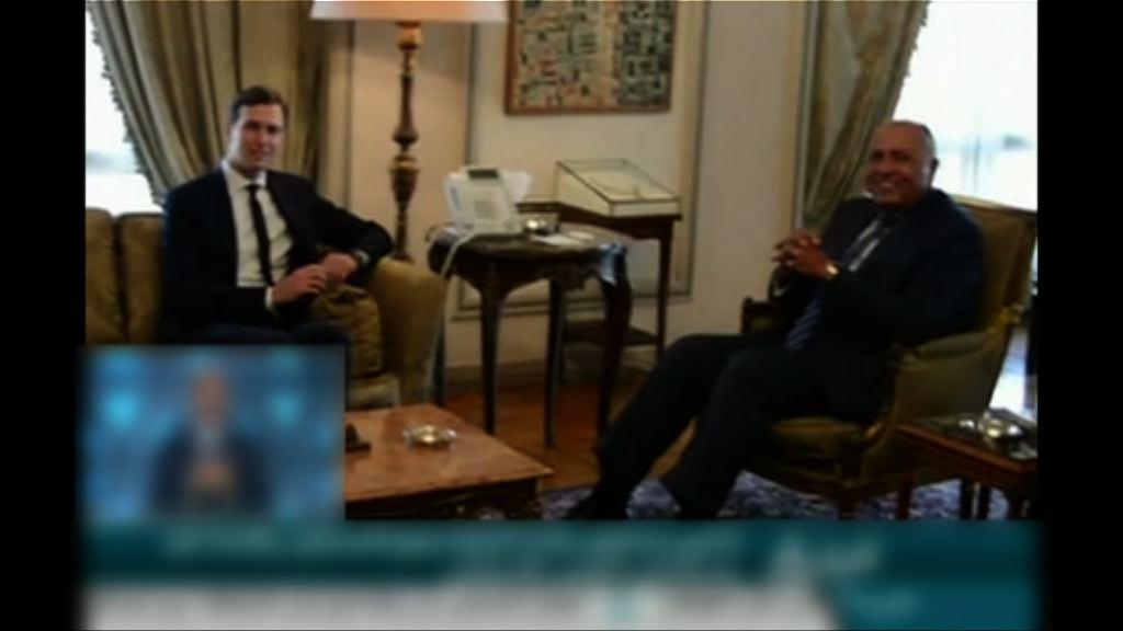 華府削減埃及援助 外長一度拒晤庫什納