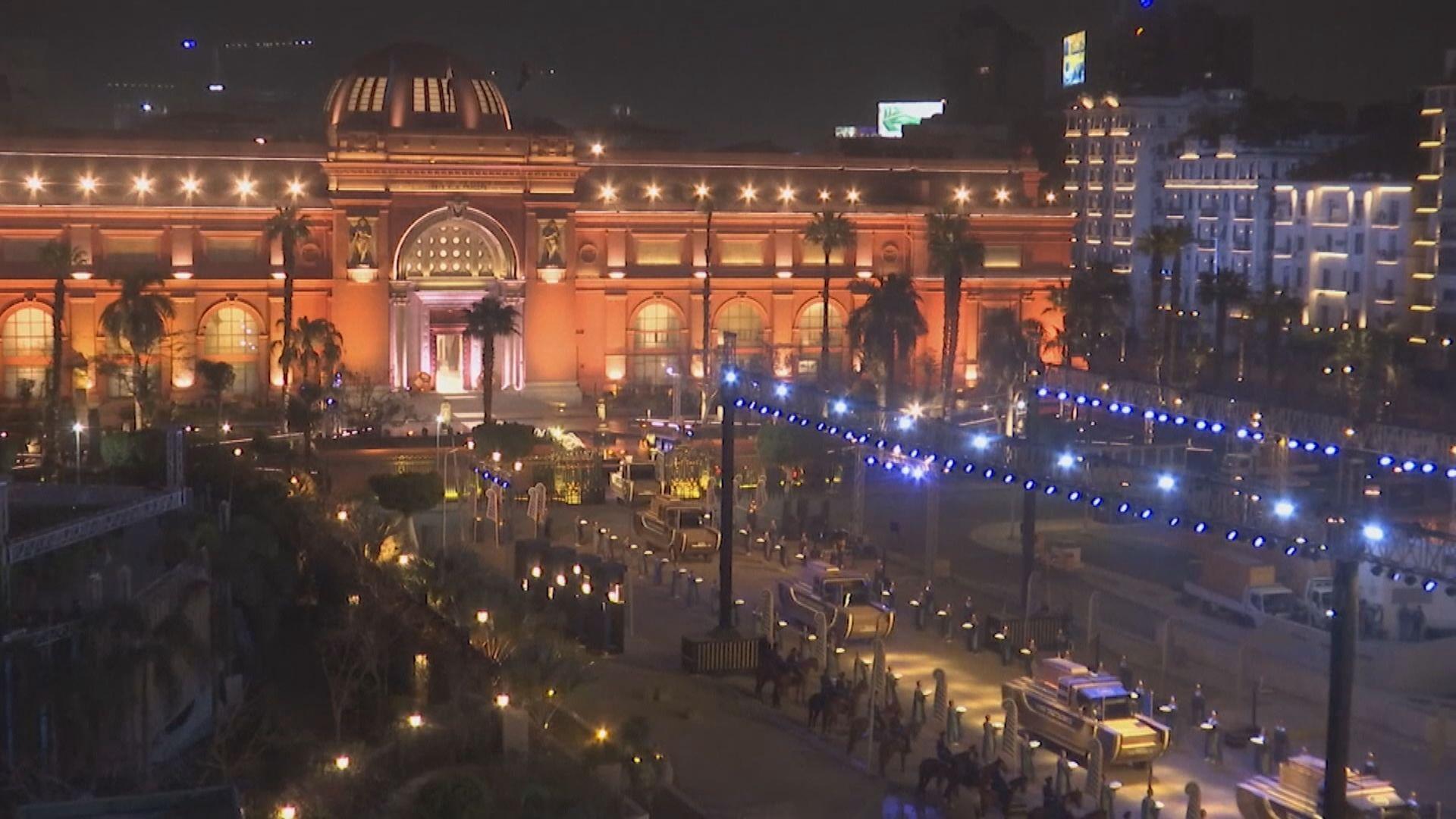 埃及移送22具木乃伊到新博物館