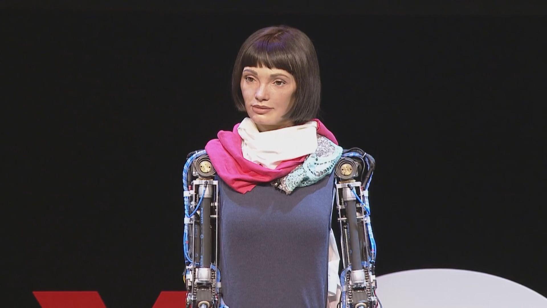 埃及一度扣押全球首個人工智能藝術家