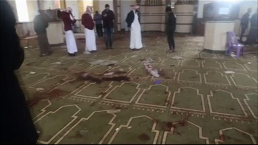 埃及當局指襲擊清真寺者手持伊斯蘭國旗幟