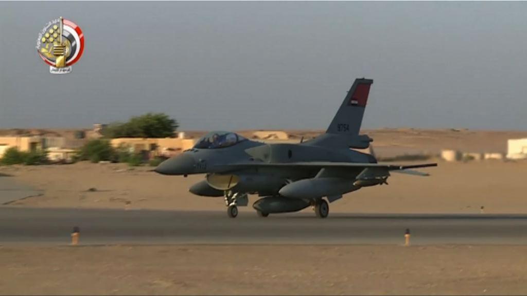 埃及軍方就基督徒遇襲空襲利比亞