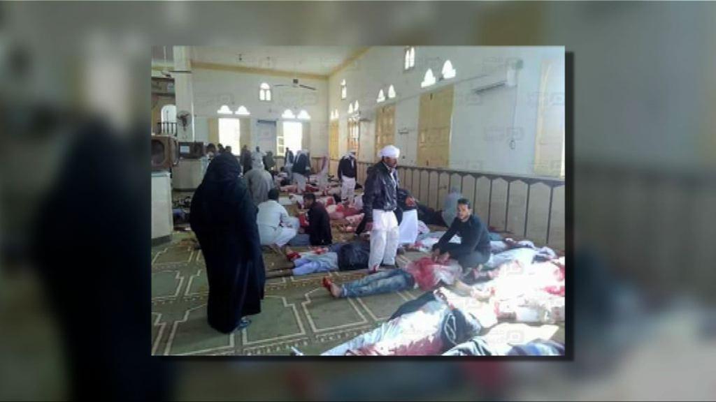 西奈半島清真寺遇襲逾三百死傷