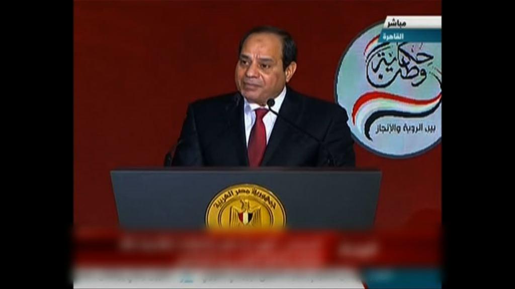 塞西宣布競逐連任埃及總統
