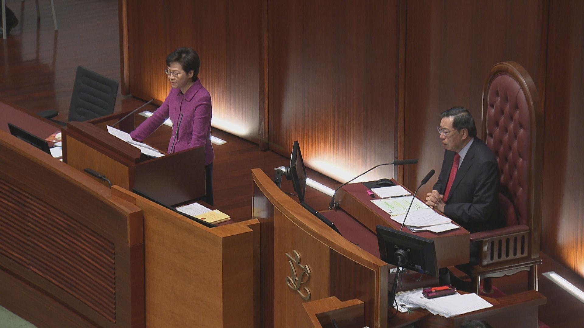 林鄭:新制下市民可透過防火滅罪委員會等反映意見