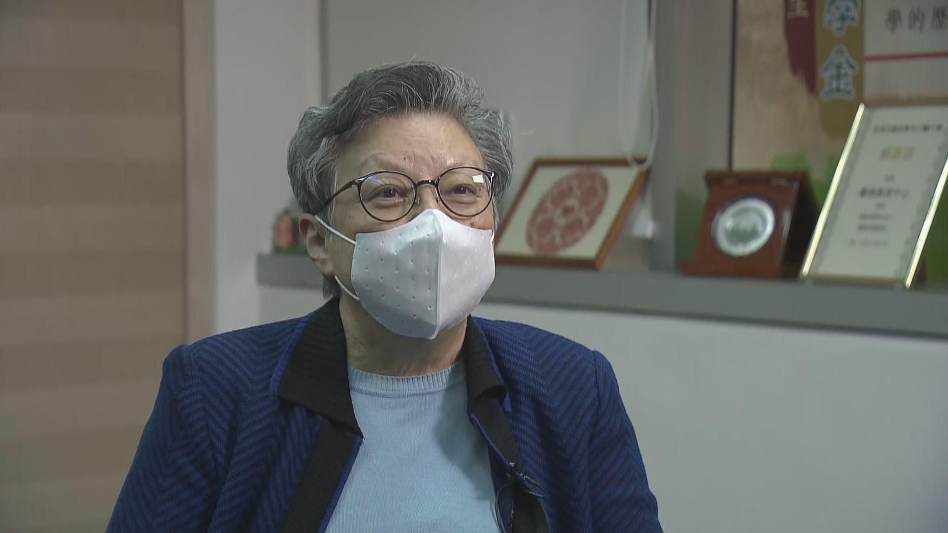 范徐麗泰:選委會總召集人應備而不用 勿對香港指指點點