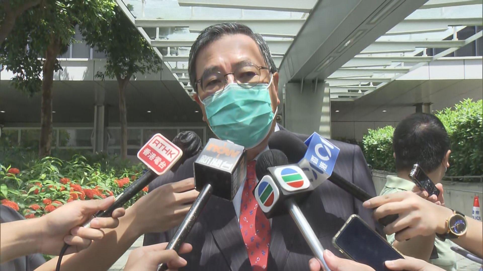 梁君彥指獲業界及所屬政黨鼓勵決定參選
