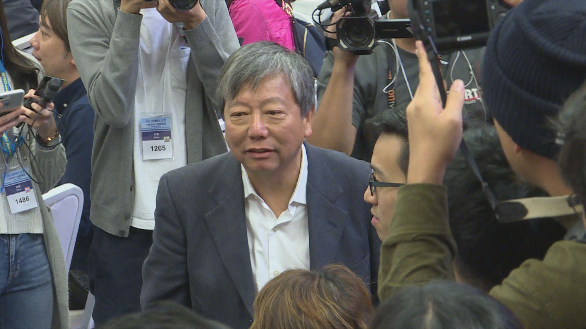 李卓人馮檢基認為民主派要反思兩次落敗原因