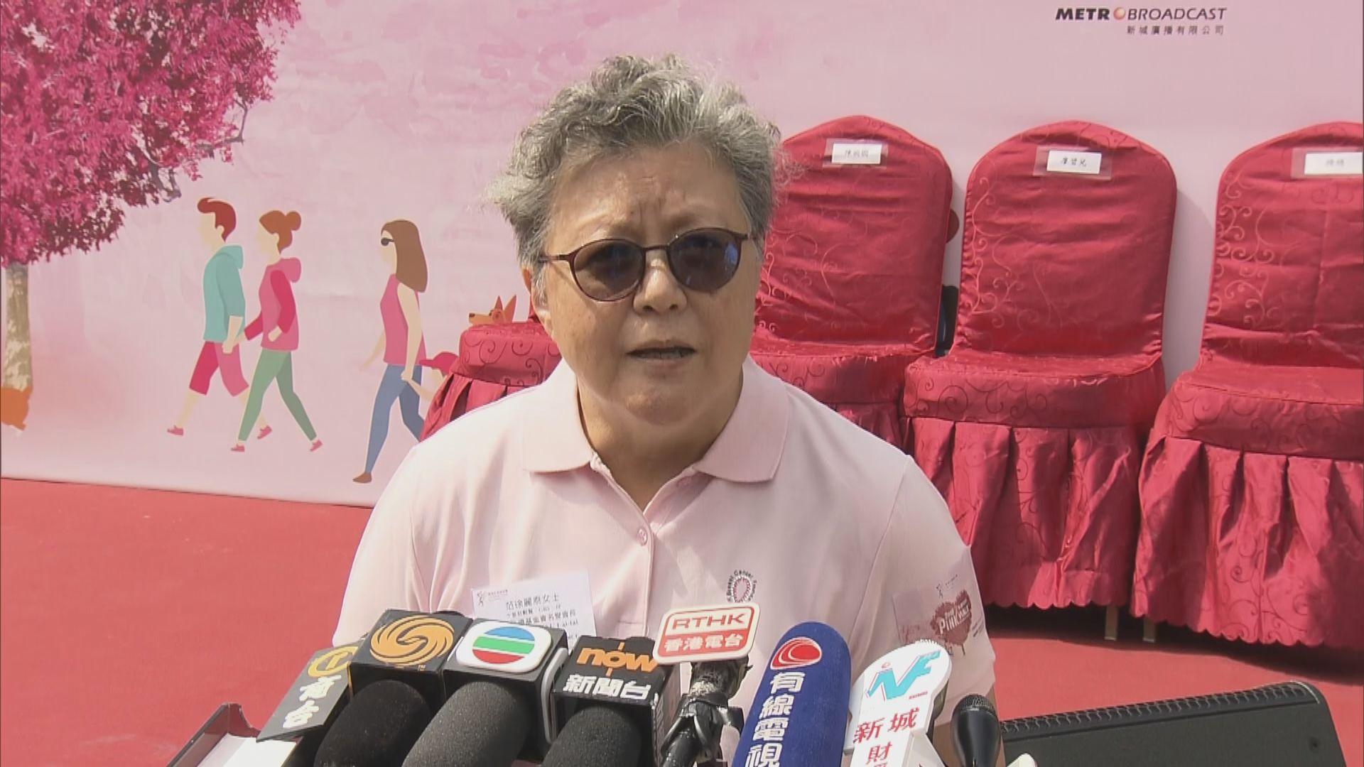范徐麗泰:李卓人叫喊結束一黨專政已違中國憲法