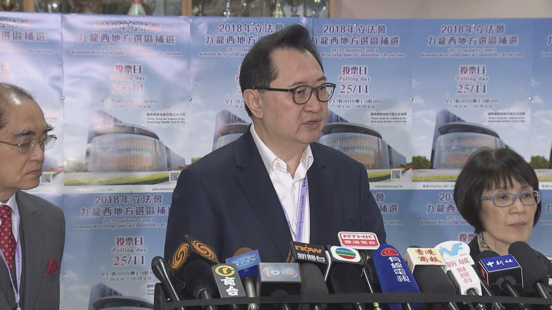 馮驊稱非候選人所出選舉廣告屬違規