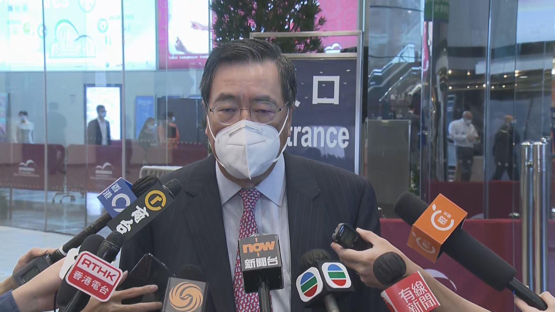 梁君彥:立法會可加開會議配合立法工作