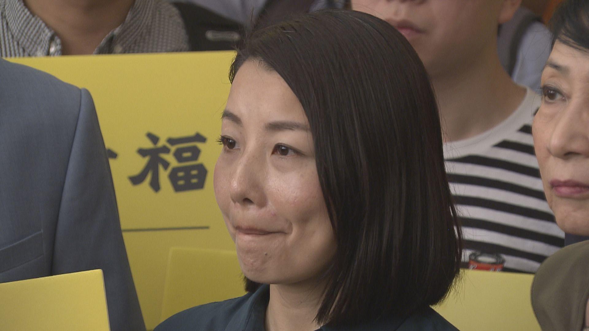 據報道劉小麗曾簽聲明指港獨是自決選項