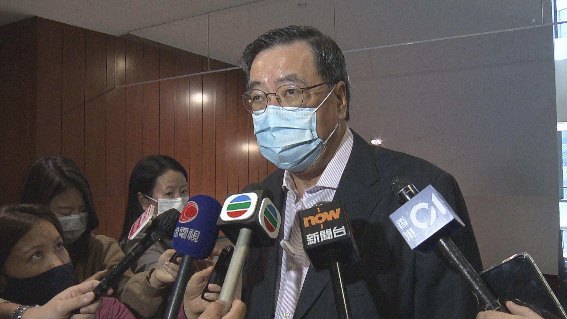 梁君彥:相信選舉制度完善後 議會仍可有不同聲音
