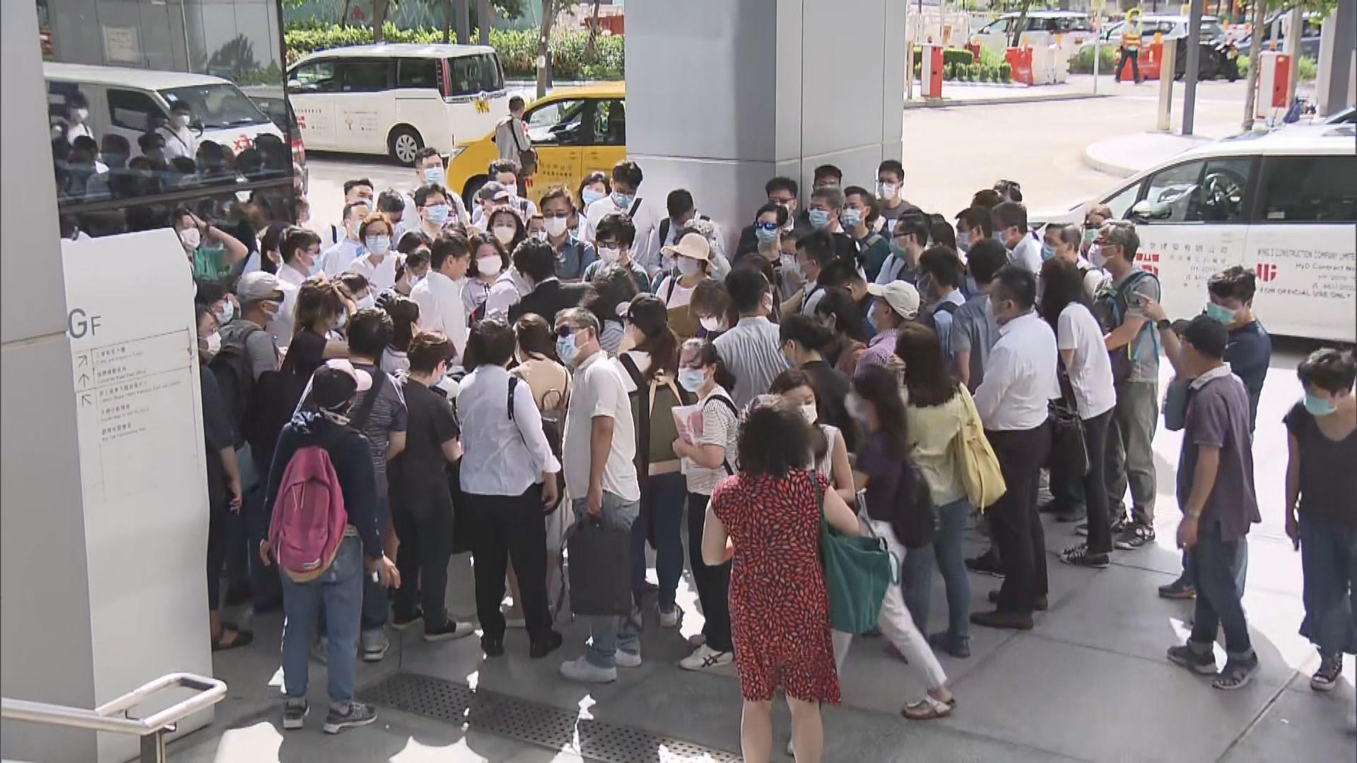 約200名體藝文及進出口界選民被反對資格