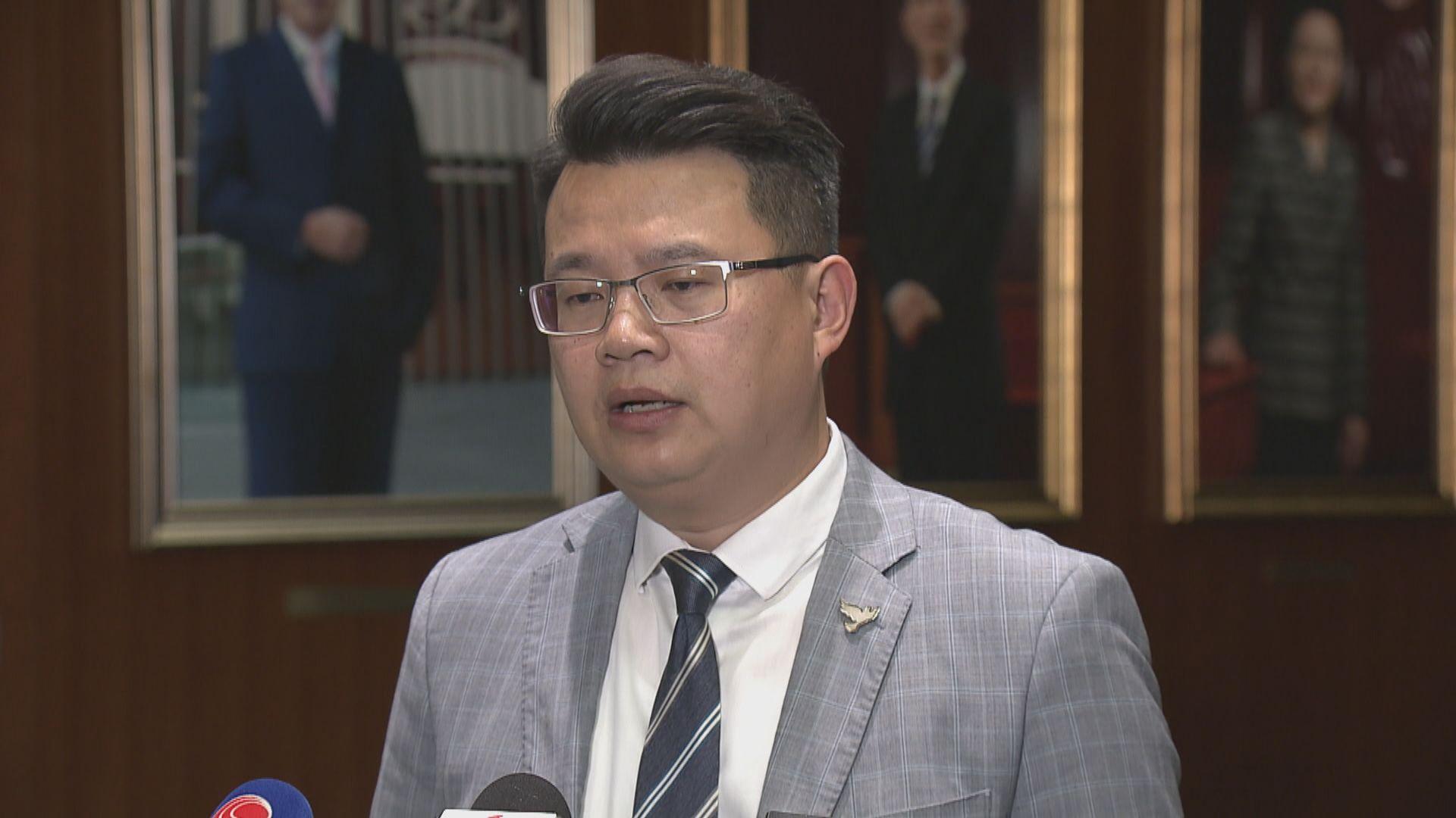 尹兆堅對不重劃選區表失望