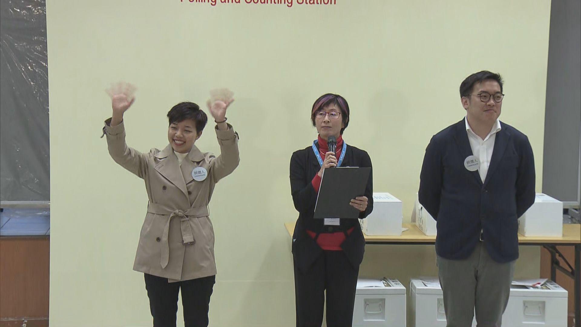 大南區區議會補選 經民聯李思敏當選