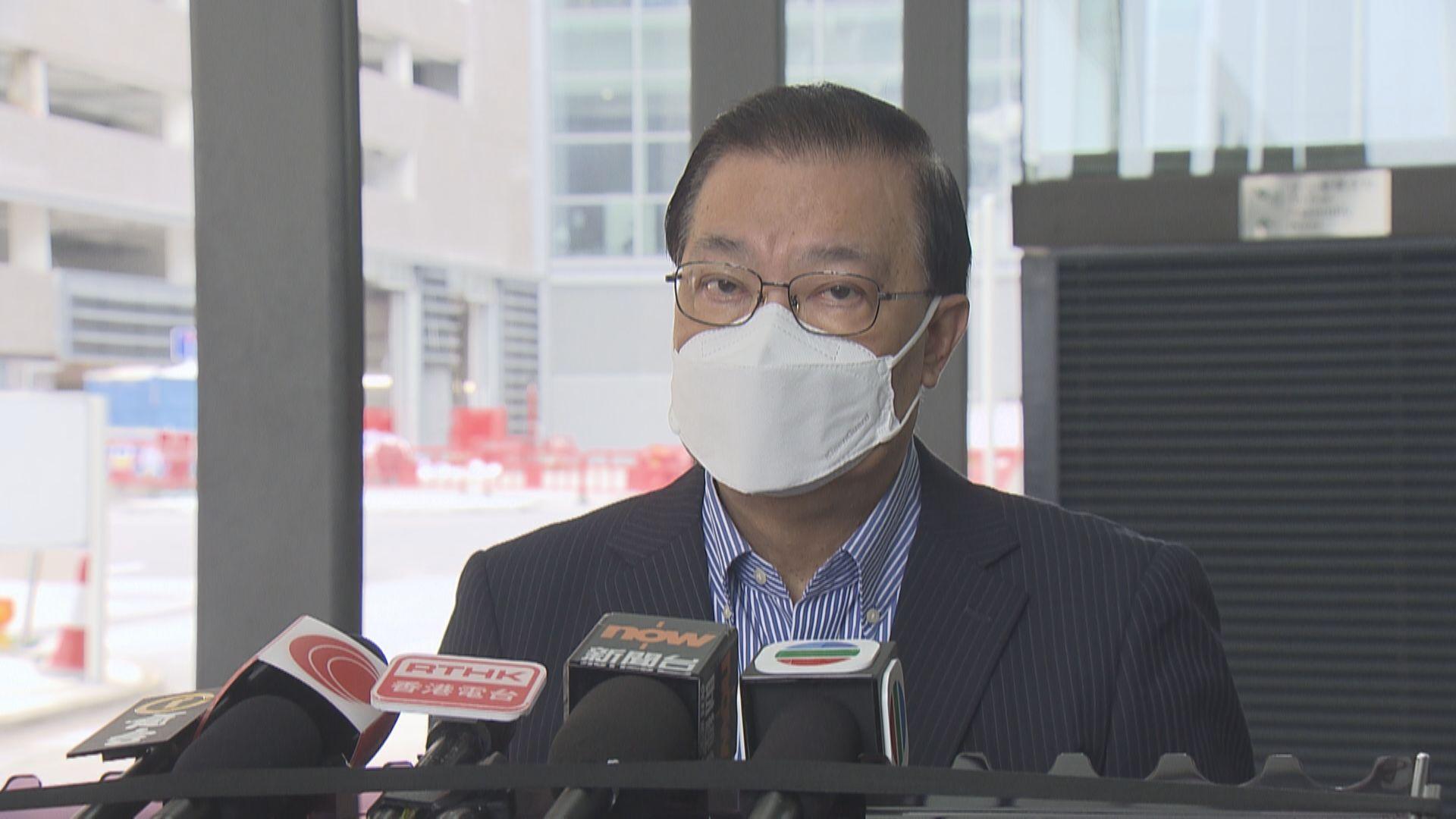 譚耀宗估計選委會選舉後會委任總召集人