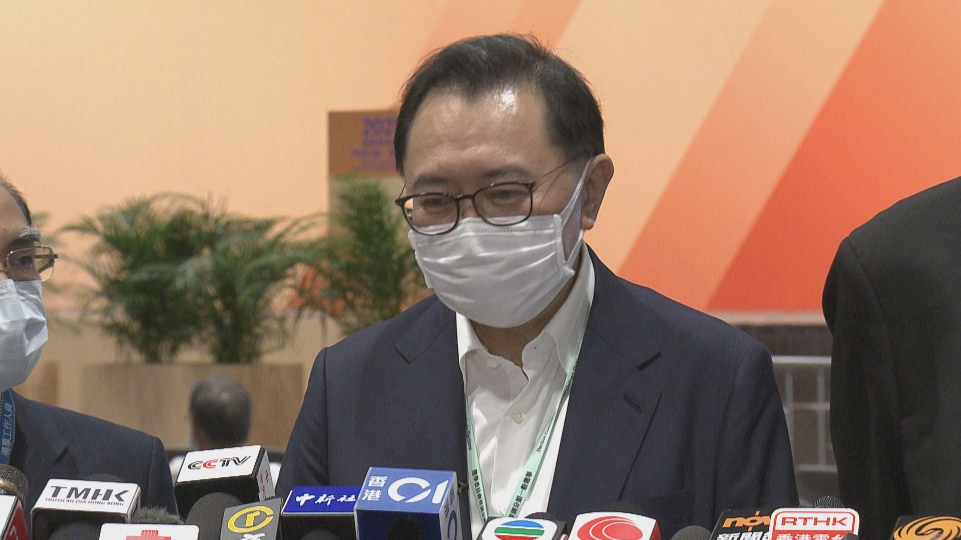 【選委會選舉】馮驊:投票率近九成 有非選民到票站排隊