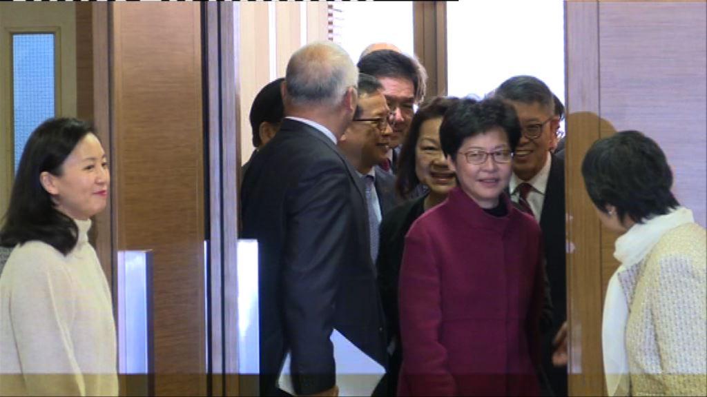 林鄭月娥曾俊華晤商界談及勞資議題